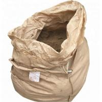 China Full Open Top Polypropylene Jumbo Bags Flat Bottom With Spout 1000kg / 1200kg wholesale