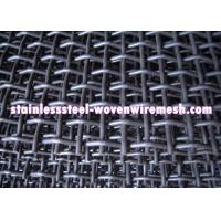 Buy cheap Crimped Carbon Steel Wire Mesh Square Aperture And Round Wire In Sheet High from wholesalers