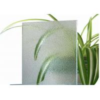 China Room Decorative Tinted Glass , 4mm Thickness Coloured Patterned Glass For Balconies wholesale