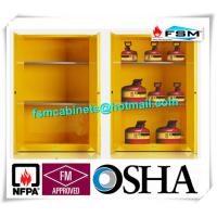 China Explosion Proof Chemical Storage Cabinets With Adjustable Shelf For Gas Cylinders wholesale