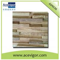 China Mosaic wood wall tiles with rustic surface wholesale