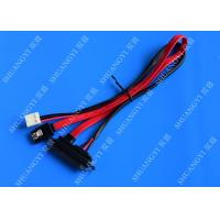 Buy cheap Sata Connector 7+15 7in to 7 Pin Sata Cable Power Cable 100mm from wholesalers