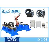 China Hwashi CNC Automatic Industrial Welding Robot Arm High Precision Working Station Positioner wholesale