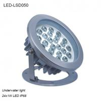 China High efficiency 24W φ215xH221mm exterior IP68 LED Underwater light wholesale