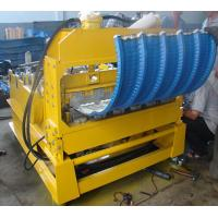 China 0 - 12m/min High Speed PLC Control Roof Crimping Curved Machine for Roof Curving wholesale