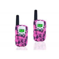 China LCD Display Wireless Two Way Radio , Camouflage Pink Two Way Radios wholesale