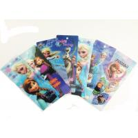 China CMYK Printed PET Lenticular 3D Bookmarks With Two Sides Printing wholesale