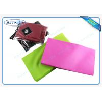 China 1M x 1M Square Eco - Friendly Non Woven Tablecloth , Birthday Party Table Cloth wholesale