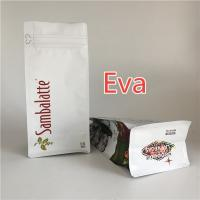 China Resealable Zipper Stand Up Bags Flat Bottom For Animal Feed Packaging wholesale