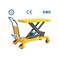 China Hydraulic Heavy Duty Scissor Lift Table Durable Pump With ISO Certification wholesale