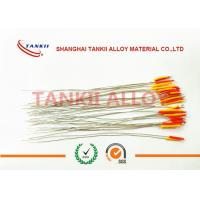 China Diameter 0.35mm 0. 5mm Thermocouple Wire platinum rhodium S R B type thermocouple wire 90mm length wholesale