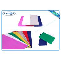 China Hygeian and Convenient Disposable Non Woven Tablecloth with Polypropylene Material wholesale