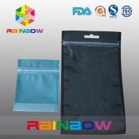 China Stand Up Zipper Bag For Tea , Plastic Pouches Packaging Bottom Gusset Bags And Handle wholesale