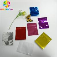 China Colorful Plastic Pouches Packaging Heat Seal Aluminum Foil Bags Smell Proof wholesale