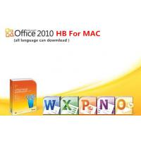 China Home / Business Microsoft Office 2010 Product Activation Key , FPP key for MAC on sale