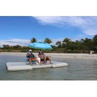 Summer Water Toys Inflatable Dock Float Platform For Island Or Lake
