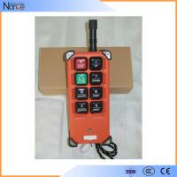 China Universal Industrial Remote Controls With Long Distance , Crane Transmitter wholesale