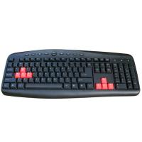 China Desktop / Laptop Gaming Computer Keyboard Light Up Laptop Keyboard wholesale