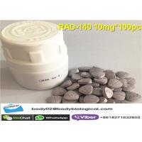 China RAD-140 SARMs Raw Powder In Pills Save Mass Wasting Reduce Androgenic Side Effects wholesale