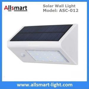 China Solar Wall Light ASC-012 20LED 350lm Solar Motion Light Solar Garden Light Solar Security Light Solar Sensor Wall Light wholesale