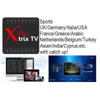 China Australia IPTV Xtrix tv Plus watch Europe USA Arabic EPL sports etc ch with Catch up for Australia and New Zealand users wholesale