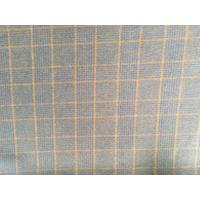 China Double Faced Modern Plaid Fabric ,  Soft Tartan Fabric For Curtains wholesale