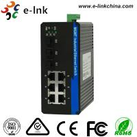 China 6 Port Managed Industrial Ethernet Media Converter with 3 1000Base-X SFP ports and 6 10 / 100Base-T(X) ports wholesale