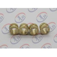 China Copper Knurling Unthreaded Hollow Nuts Custom Machined Parts For Plastic Insert Nuts on sale