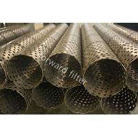 China Downhole Sand Control Screens , Oilfield Prepack Wire Wrap Well Screen wholesale