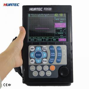 Buy cheap Digital ultrasonic flaw detector , ultrasonic flaw detection equipment dust proof from wholesalers
