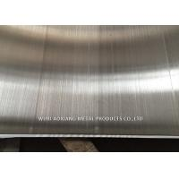 China BA Hairline TP 304L Stainless Steel Plate 1219mm 1500mm 1000mm Width wholesale