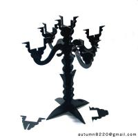 China CH (15) Modern clear acrylic candelabra wholesale