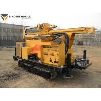 China TDW200C Water Well Crawler Drill Rig 110KW 200m Depth 1000mm Diameter on sale