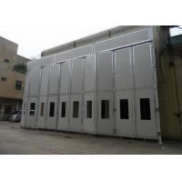 China Carbon Exhaust Filter Industrial Spray Paint Booth Hire 14000×12000×6350 MM Internal Size on sale