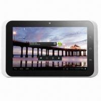 """China 7""""/16:9/1024x600 IPS Capacitive Tablet PC, AML8726-M3 (Cortex A9)/Built-in 3G Call Function/Android wholesale"""