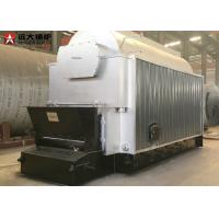 China 10 Tph Wood Chips Fired Steam Boiler , Wood Pellet Boiler For Paper Process Industry wholesale