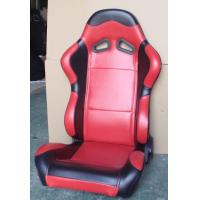 China Red Black Sport Racing Seats With Single Or Double Slider Simple Installation wholesale