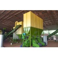 China Cow dung, sheep manure as materials to make organic fertilizer pellets production line wholesale