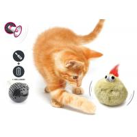 China Electronic Auto Motion Bouncing Battery Operated Pet Toys With Plush Cover wholesale