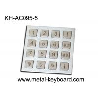 Buy cheap 4 X 4 Matrix Door Access Keypad with Rugged Stainless Steel Material from wholesalers