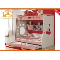 2016 modern cheap wholesale discount mdf pink bunk beds for Cheap quality bedroom furniture