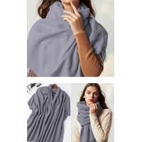 China EMF shielding scarf with silver lining for multiple use wholesale