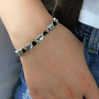 China 2016 Fitness Jewelry 316L Stainless Steel Germanium Bracelet Designed For Couple,stainless steel bracelet wholesale