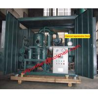 Buy cheap Old transformer oil regeneration system , Insulation Oil Recycling Machine,Used from wholesalers