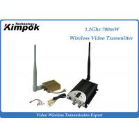China 1400m AV COFDM Wireless Transmitter / Video Transmission Equipment 8CHs wholesale