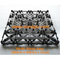 China PB-09 Interlocking Plastic mat for decking tiles wholesale