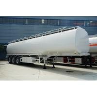 China 42000 Liters Fuel Delivery Truck / Petroleum Tanker Trailer 42m3 6 Compartments wholesale