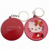 Buy cheap Promotional Keychain with Soft PVC (Nontoxic) Component, Available in 2D and 3D Type from wholesalers