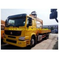 China 25 tons truck mounted crane 6X4 ZF 8098 hydraulic steering with power assistance wholesale