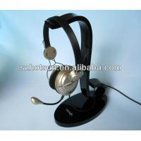 Quality Display rack for the earphone, acrylic earphone holder, bluetooth earphone display rack for sale